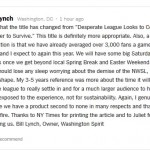 Bill Lynch NY Times Comment