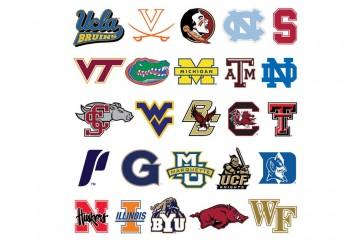 2014 College Rankings Logos