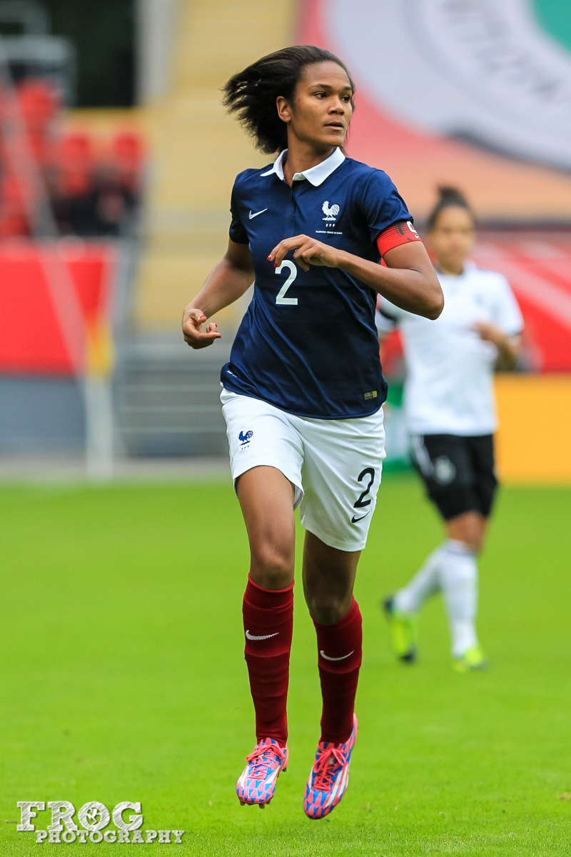 Wendy renard interview - France S Wendie Renard During The Match Against Germany On October 25 2014 In Offenbach Germany
