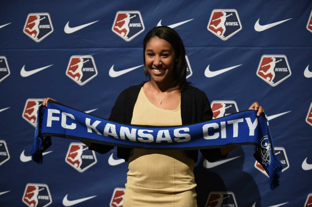 Brianne Reed, pick for FC Kansas City at the 2016 NWSL College Draft.