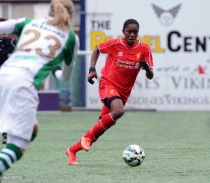 Asisat Oshoala for Liverpool