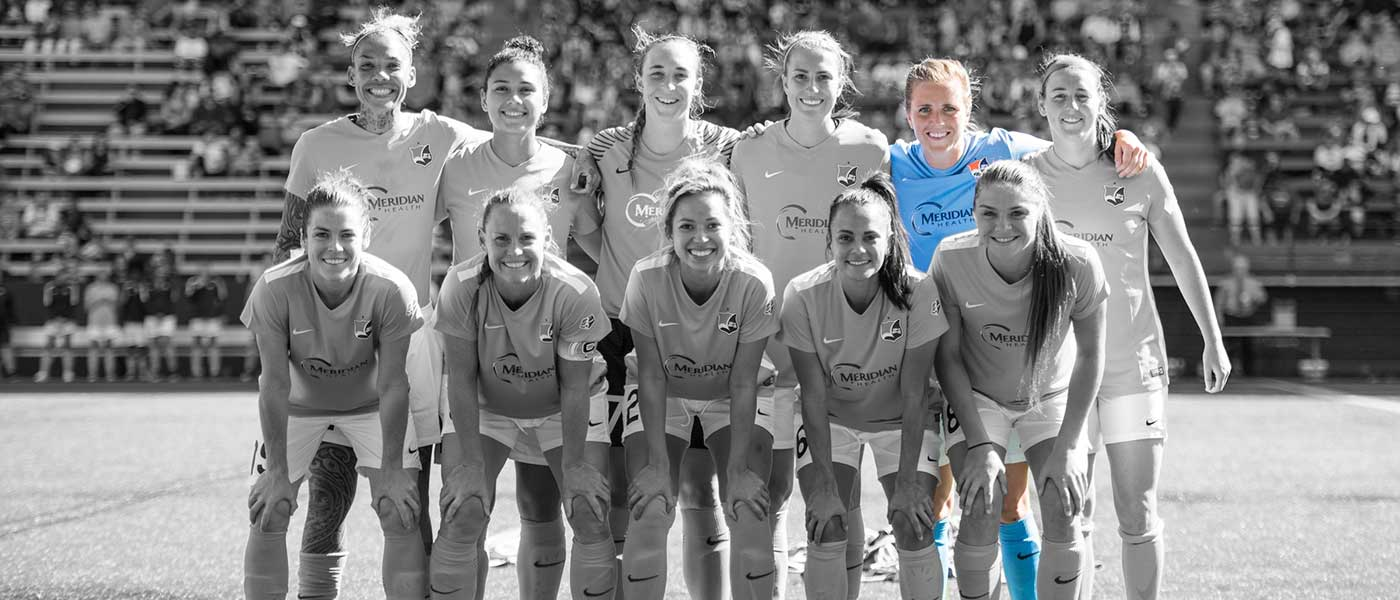 Kelly Conheeney in the starting lineup for Sky Blue FC.