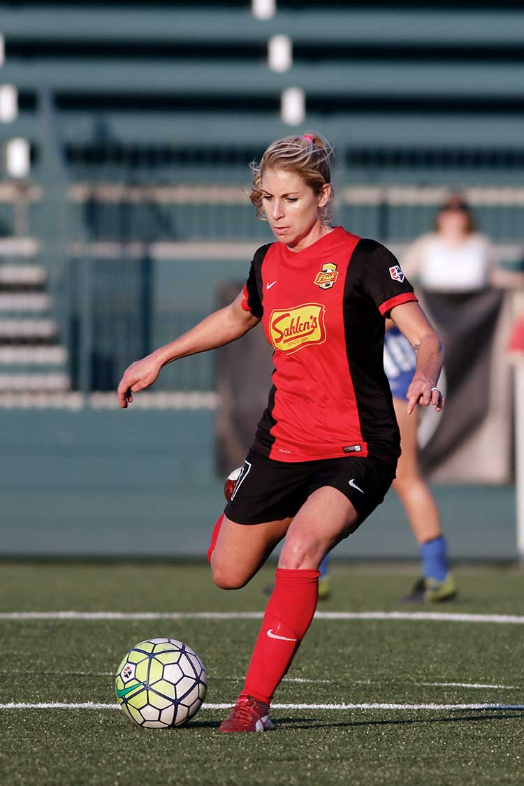 McCall Zerboni with the WNY Flash by Mark Howard