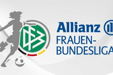 logo for the Allianz Frauen-Bundesliga