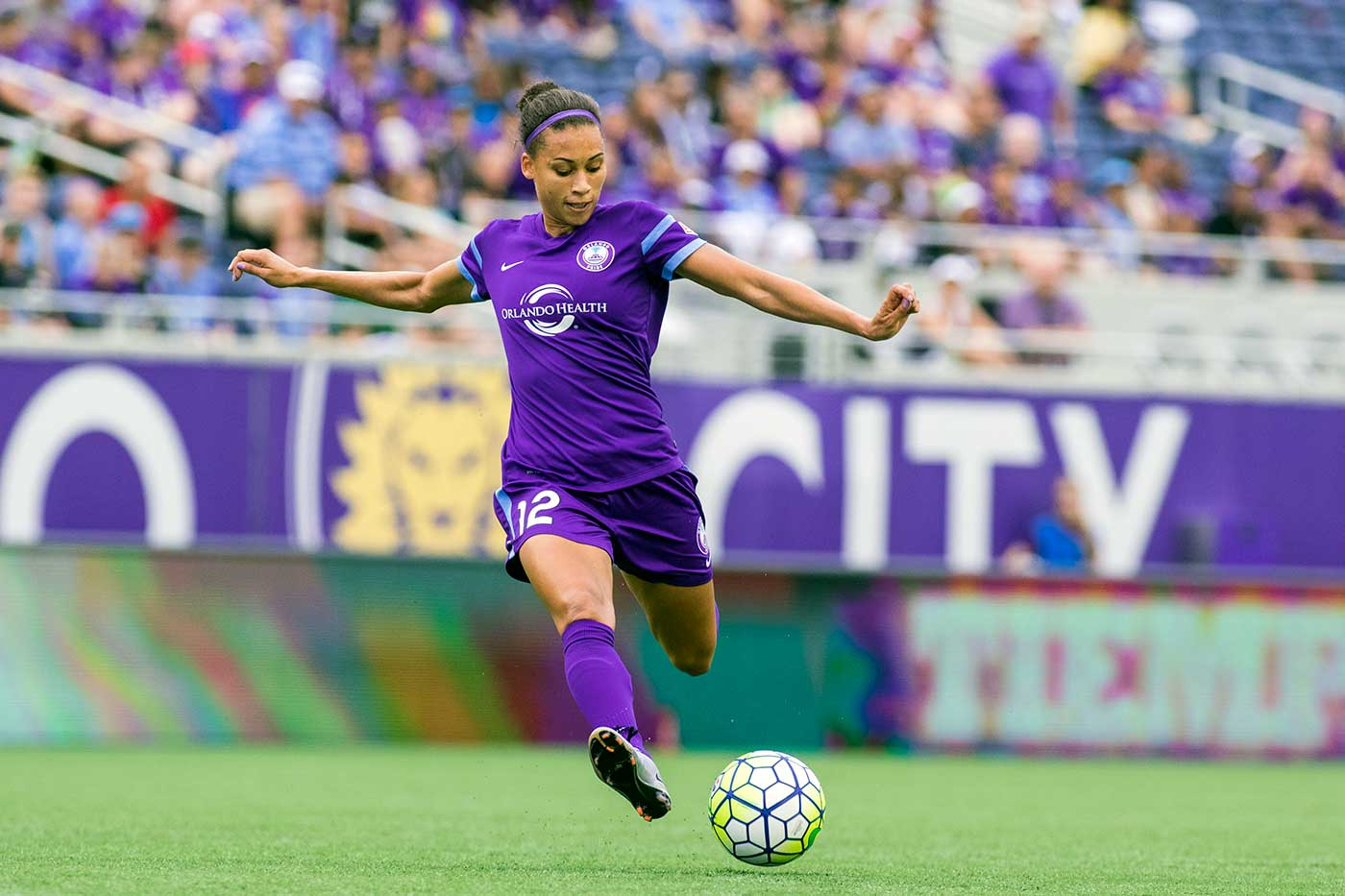 Kristen Edmonds of the Orlando Pride by Mark Thor
