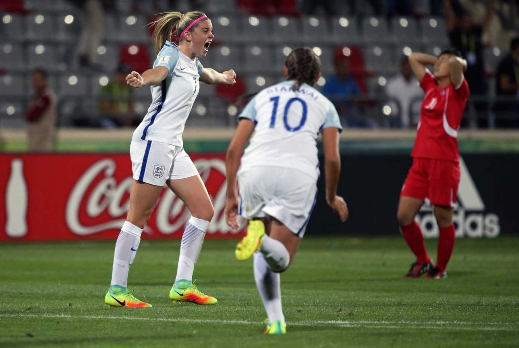 Alessia Russo with England. (Alessia Russo)