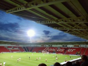 Doncaster playing Liverpool. (Maria Karlsson)