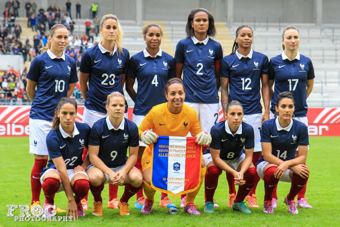 France starting lineup on October 25, 2014