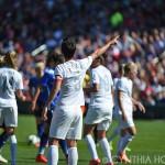 New Zealand captain Abby Erceg directs the defense.