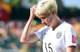 The USA's Megan Rapinoe.