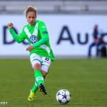 Wolfsburg's Babett Peter.