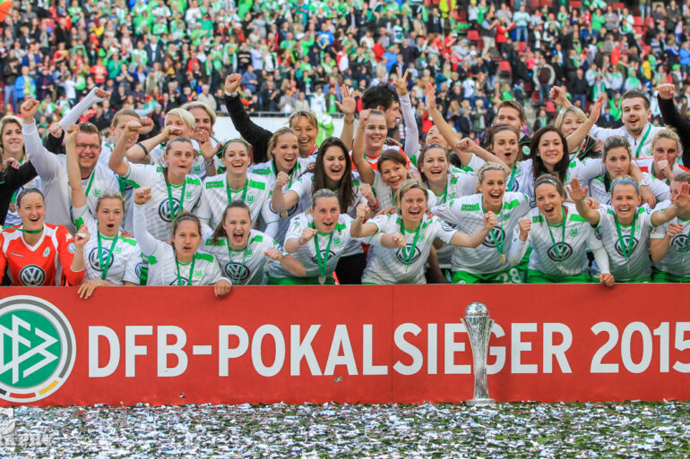 Your 2015 Frauen DFB-Pokal winner, VfL Wolfsburg.