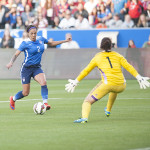 Sydney Leroux during the first half of the USA-Mexico international friendly on May 17, 2015.