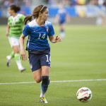 Morgan Brian looks for options during the USA-Mexico international friendly on May 17, 2015.