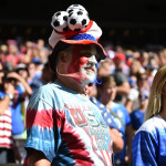 USA supporters.