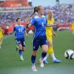 USA's Becky Sauerbrunn.