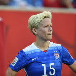 Megan Rapinoe of the U.S. Women's National Team.