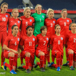 England's starting lineup against Germany on November 26, 2015, in Duisburg.