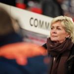 Silvia Neid, Germany's head coach.