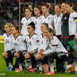 Germany's starting lineup.