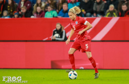 England's Stephanie Houghton.