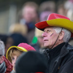 A German supporter during the friendly between Germany and England.