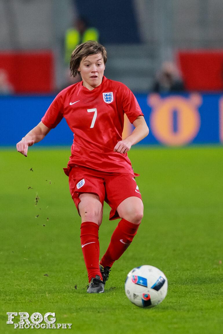 England's Fran Kirby.