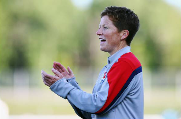 michelle french uswnt u-20 head coach by getty images