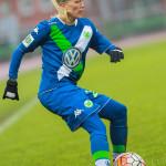Lara Dickenmann for Wolfsburg.