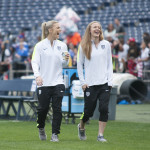 Julie Johnston and Becky Sauerbrunn.