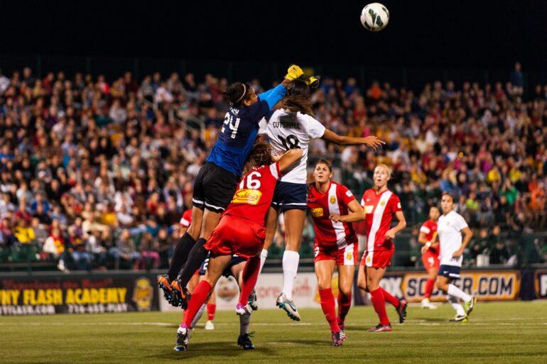 adrianna franch of western new york flash by nwsl soccer