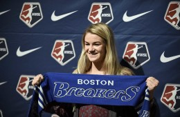 Christen Westphal at the 2016 NWSL Draft.