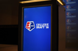 2016 NWSL College Draft podium