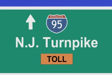 New Jersey Turnpike road sign