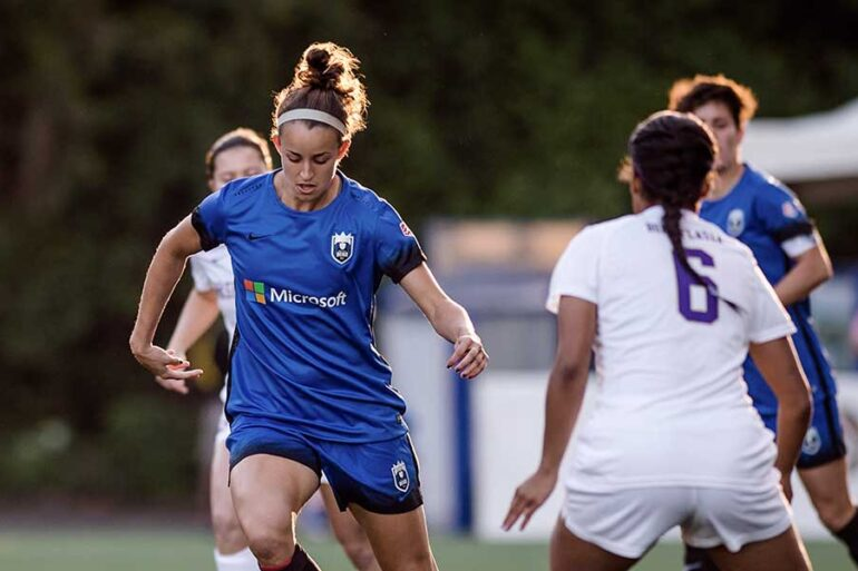Havana Solaun has battled back from injury. (Jane G Photography/Seattle Reign FC)