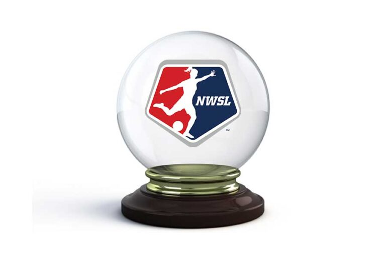 nwsl logo in crystal ball