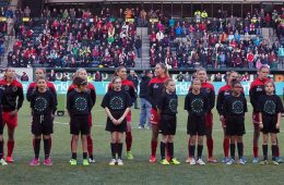 Portland Thorns FC lineup by Ray Terrill