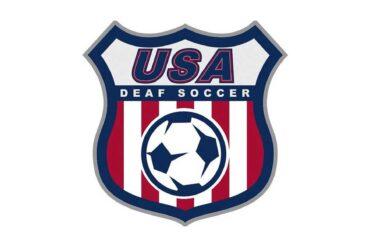 u.s. deaf soccer logo