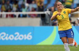 Monica respresenting Brazil