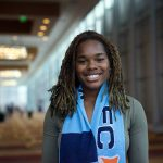 Kayla Mills, the No. 4 overall pick at the 2017 NWSL College Draft. (Manette Gonzales/OGM)