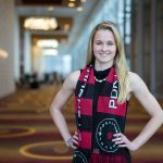 Tyler Lussi, a 2017 NWSL College Draft pick of the Portland Thorns FC. (Manette Gonzales/OGM)
