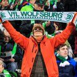 Wolfsburg supporters.