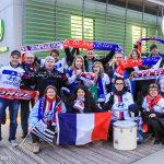 "Lyon's supporters ""OL Ang'Elles."""