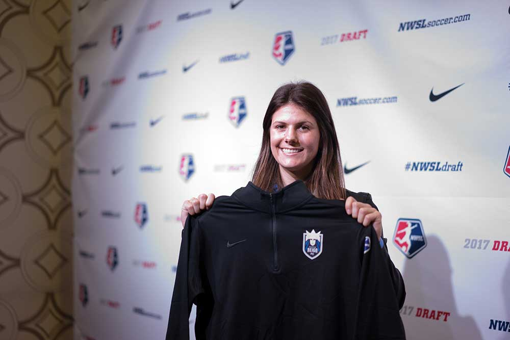 Maddie Bauer selected by Seattle. (Manette Gonzales)