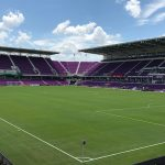 Orlando City Stadium corner view.