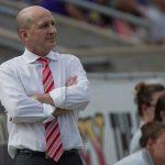 North Carolina Courage head coach Paul Riley. (Shane Lardinois)