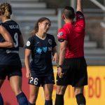 Sam Witteman and the referee disagree. (Shane Lardinois)