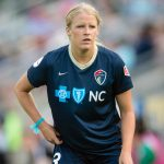 Makenzy Doniak of the North Carolina Courage. (Shane Lardinois)