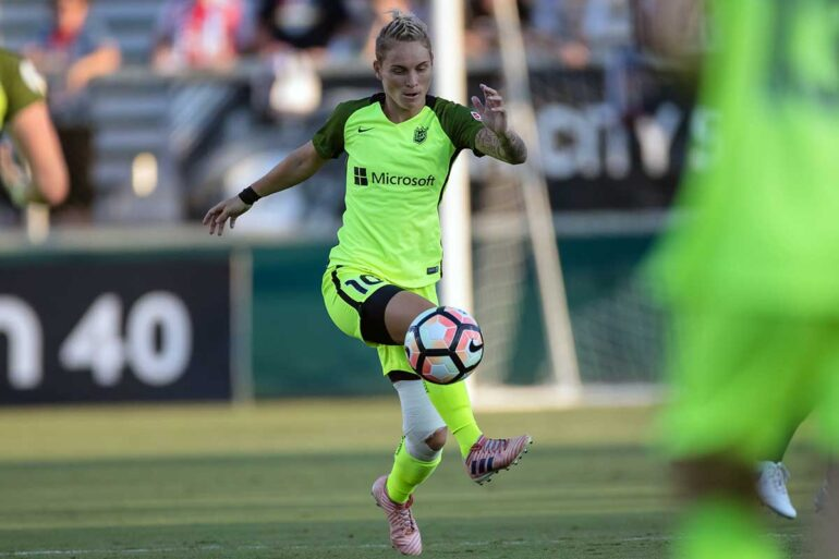 The Mother of All Dragons Jess Fishlock. (Shane Lardinois)