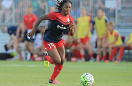 Francisca Ordega of the Washington Spirit by Tony Quinn.